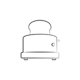 toaster icon  Signs and symbols can be used for web, logo, mobile