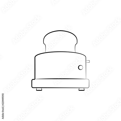 toaster icon  Element of electrical devices icon  Premium quality