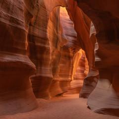 Wall Mural - Antelope Canyon, wonderful sandstones formations, Arizona, USA