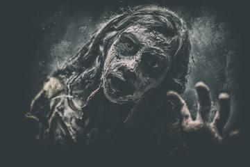 horror zombie halloween