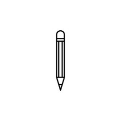 pencil icon. Element of journalist for mobile concept and web apps illustration. Illustration for website design and development, app development