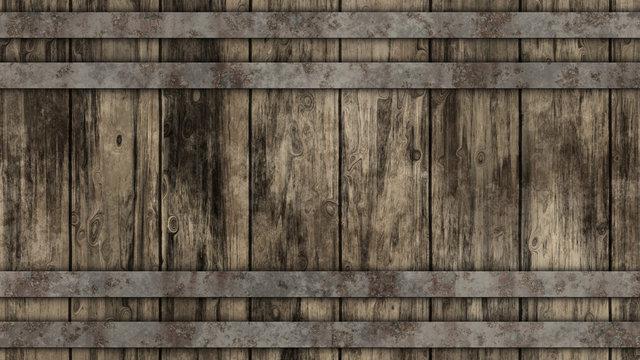 Barrel Wood Background