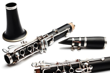 Clarinet classical music instrument