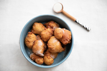 African doughnuts on the table