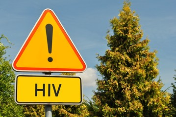 Obraz HIV - fototapety do salonu