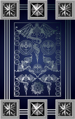 Graphical illustration of a Tarot card 3_2