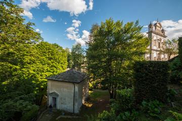 Sacro Monte di Varallo, Valsesia, Vercelli, Piemonte, Italia
