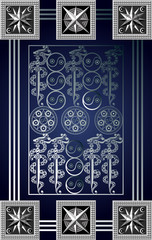Graphical illustration of a Tarot card 6_2