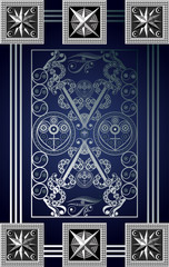 Graphical illustration of a Tarot card 10_2