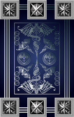 Graphical illustration of a Tarot card 15_2