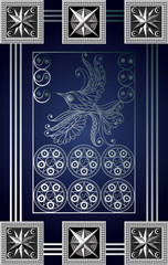 Graphical illustration of a Tarot card 16_2