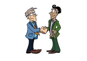 Handshake Bernard_Manuel