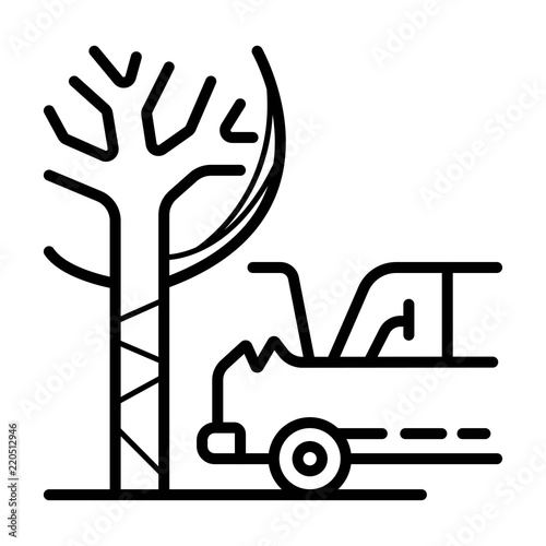 Car Crash Icon Stock Image And Royalty Free Vector Files On Fotolia