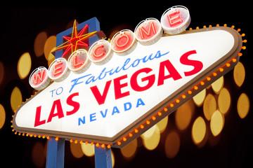 Poster Las Vegas Welcome to Las Vegas Sign, Las Vegas, Nevada