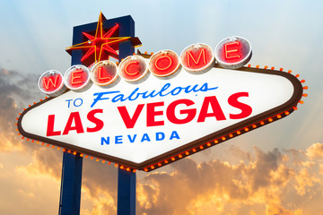 Aluminium Prints Las Vegas Welcome to Las Vegas Sign, Las Vegas, Nevada