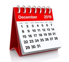 December 2019 Calendar.