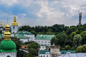 Kijów panorama, Ukraina