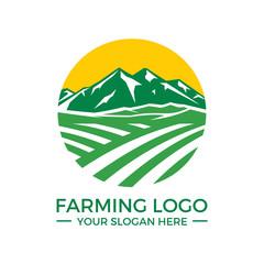 Agriculture, Farming Logo Vector