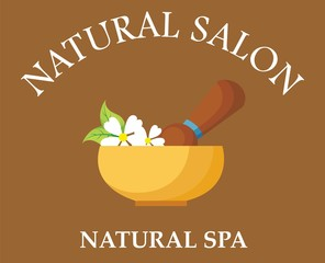 natural salon logo