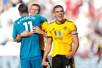Premier League - West Ham United v Wolverhampton Wanderers