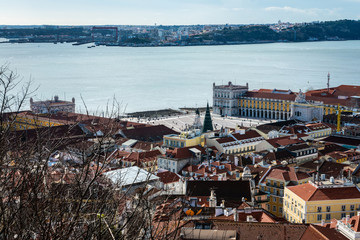 Panorama view of Lisbon