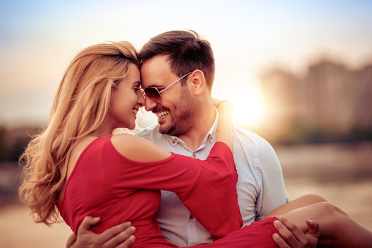 Lovely happy couple