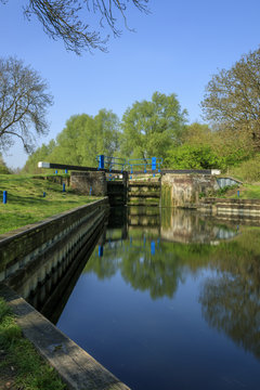 The lock gates