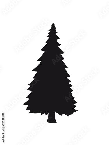 Weihnachtsbaum Clipart.Schwarz Silhouette Weihnachtsbaum Weihnachten Nikolaus Winter
