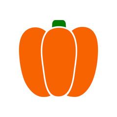 Pumpkin icon – stock vector