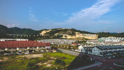 Scenery shot of residential area in Puncak Saujana, Kajang, Selangor