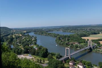 The Seine from Chateau Gaillard 1