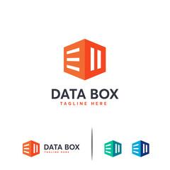 Box Document logo template designs, Online Document Logo template designs