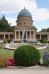 Jugenstil Trauerhalle auf dem Waldfriedhof in Darmstadt