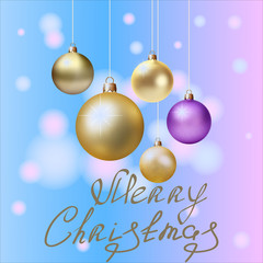 christmas and new year card design