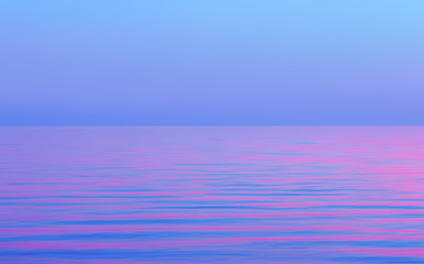 Abstract Motion Blurred Purple With Pink Seascape Background