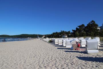 Ostseebad Binz, Rügen, Strandkorb
