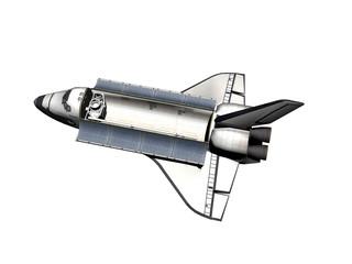 Space Shuttle im Weltraum