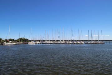 Breege, Hafen, Insel Rügen
