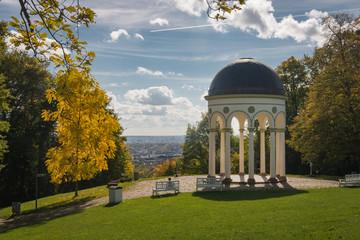 Monopteros temple at Neroberg in Wiesbaden, Germany
