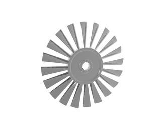 Edelstahl Ventilator Rad