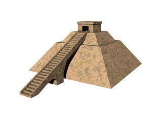 Alte Maya Pyramide