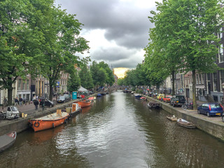 Amsterdam Stadt Kanal