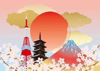 日本 イラスト