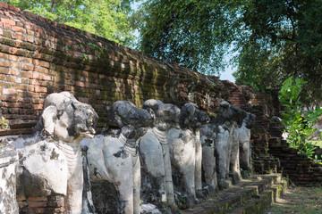 タイ・アユタヤ・遺跡・仏陀・Wat Maheyong