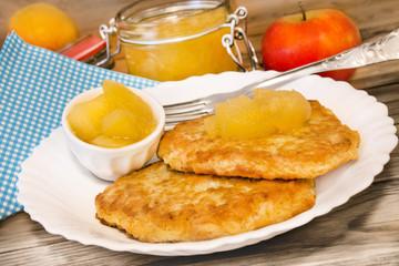 Kartoffelpuffer  -  Potato Fritters