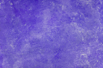 Violet pastel color wall vignette texture abstract background.