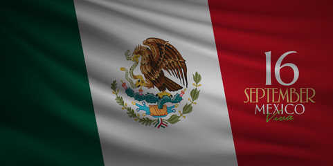 Mexican national holiday, Viva Mexico is celebrated on September 16.