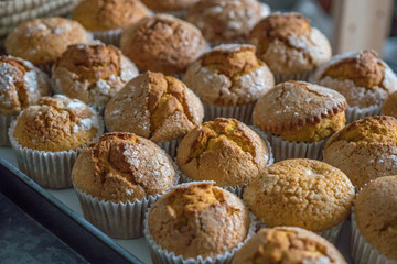 Autumn Pumpkin Muffin Ready to Eat