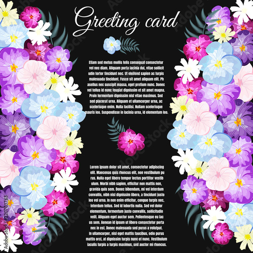 Save the date, floral wedding felicitation elegant invite, thank.