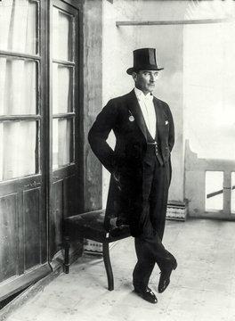 Portrait of  Mustafa Kemal Ataturk
